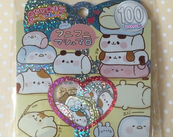 Kamio Japan *Marshmallow* Sticker Sack