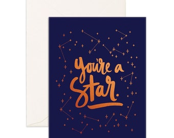 You're A Star Greeting Card