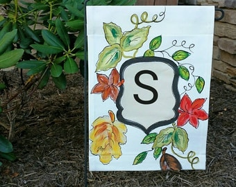 New, Beautiful Personalized, Garden Flag, Yard Art, Flowers, Spring and Summer, Fun, Colorful, Hand-painted