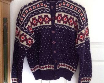 Vintage handmade Scandinavian jacket