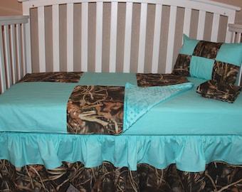 Crib Bedding Mini Crib Realtree Ap 5 Piece By