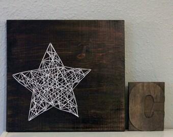 Handmade Star string art
