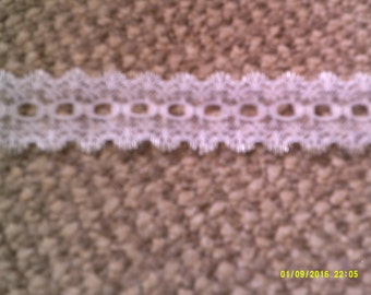 silver edged lace
