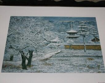 Nihonga Japanese Print
