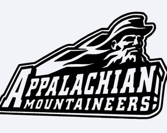 Appalachian State University vinyl decal