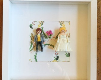 Playmobil picture bride and groom
