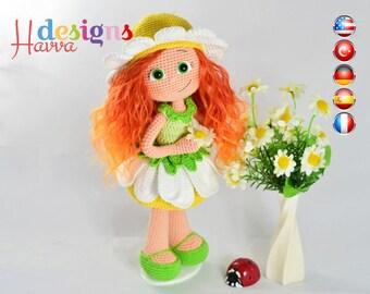 PATTERN  - Daisy Doll