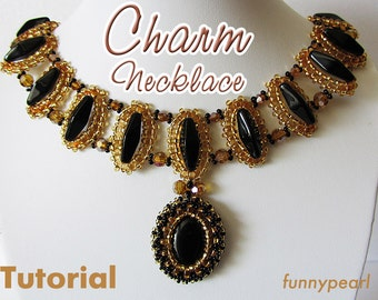 Necklace Charm. Tutorial PDF