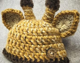 Reserve order for Charlotte: Infant Giraffe Hat