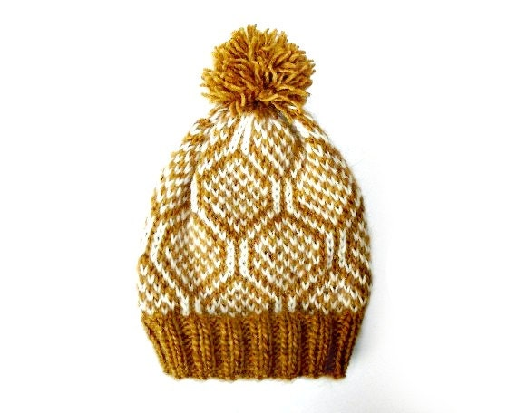 Knitted Hat Wool Hat Nordic Alafosslopi Fair Isle
