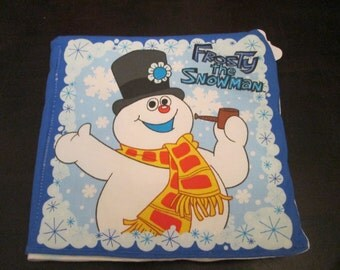 Frosty the snow man Cloth book