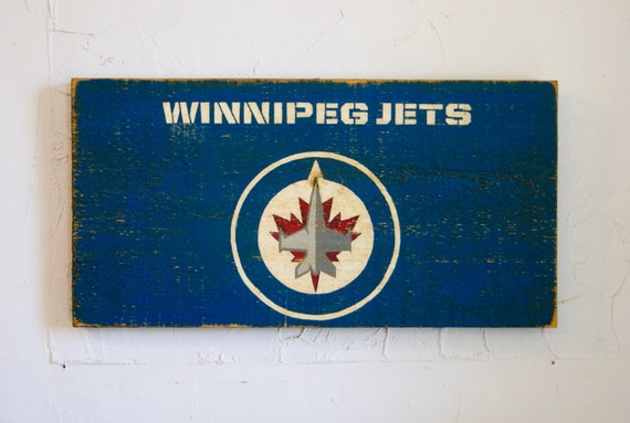 Man Cave Store Winnipeg : Winnipeg jets sign wood outdoor