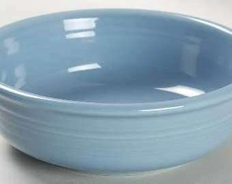 New Fiesta Periwinkle Blue Cereal Bowls Salad Soup by Homer Laughlin