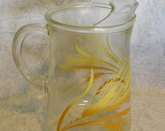 Vintage Libby Pitcher with Ice Lip