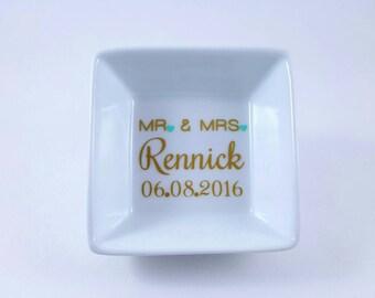 Wedding Ring Dish Date, Ring Holder, Engagement Ring Dish, Ring Dish Engagement, Wedding Ring Dish, Ring Holder