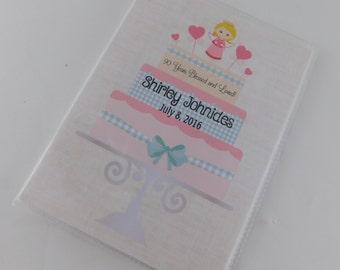 Birthday photo album cake angel heart baby girl 1st birthday party gift grandma mom present 4x6 or 5x7 pictures 635