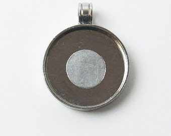 "Magnetic Pendant Tray 1"" Blank 10 pcs."