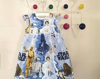 Custom Star Wars Twirling Dress