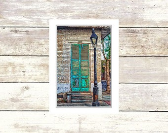 Door Greeting Cards, French Quarter Scenes, New Orleans, Handmade, Blank Greeting Cards, Suitable For Framing, Fine Art Cards