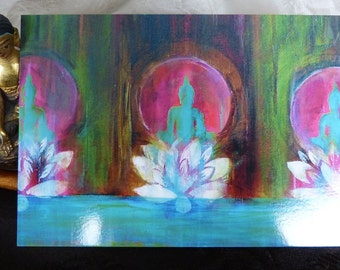 "Buddha ART ""Spirit of ZEN"" Postcard"