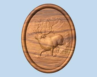 Custom Elk Cabin Signs, Elk Sign, EXAMPLE Made to Order Elk, Elk Hunting Wall Hanging, Rustic Cabin Decor, Wood Carving, Rustic Home Decor