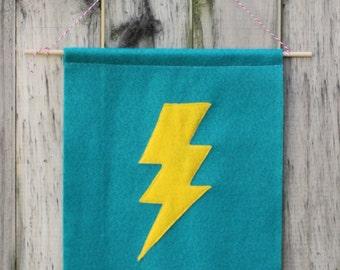 Lightning Bolt Banner