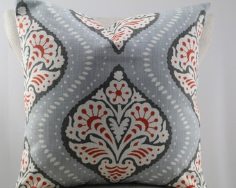 Kavali Ogee by Robert Allen pillow cover, accent pillow,throw pillow,decorative pillow,same fabric on both sides.