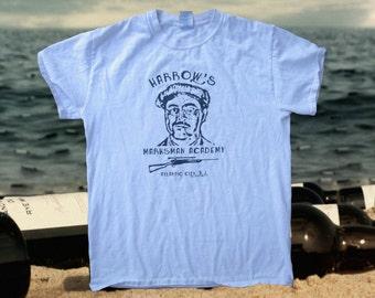 Boardwalk Empire Inspired T-shirt, Richard Harrow. Screen Printed