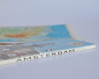 Block vintage postcards from Amsterdam