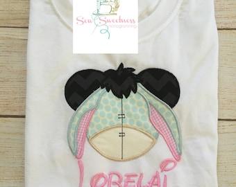 Mickey Head Eeyore Shirt