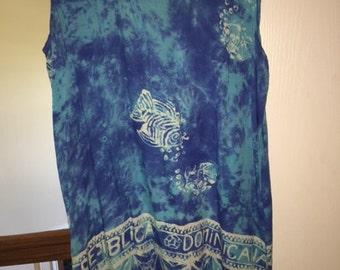 90s Batik Sundress