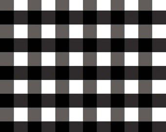 "Black Gingham 1"", from Riley Blake Designs"