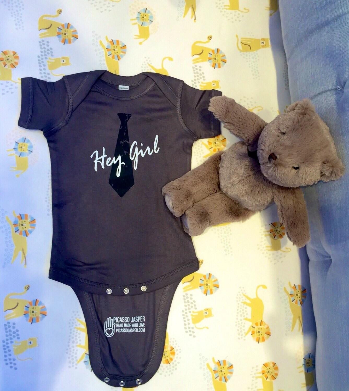 Baby Gifts Yoga : New hey girl onesie baby yoga bodysuit yogini gift