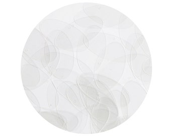 Sequin Crystal Clear Ellipse 1.5 inch Transparent See-Thru Couture Loose Paillettes