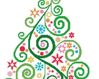 Simple Xmas Tree Pattern