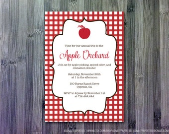 Apple Orchard Invitation (HP_FALL_INV1)
