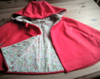 Child's Red Riding Hood Cape