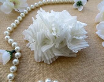 Ivory Bridal Flower Hair Accessory, Bridal Hairpiece, Bridal Hair Flower, Wedding Hair Accessories, Bridal Head Piece, READY TO SHIP