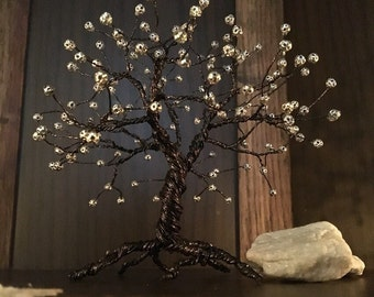 Wire Bonsai Tree