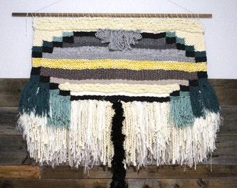 Macrame Wall Hanging Yarn Weave Textile