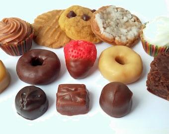 Snack Pack Wax Tarts - Bakers Dozen, Wax Tart, Food Tart, Bakery Wax Tarts, Tart Melters, Tart Sampler