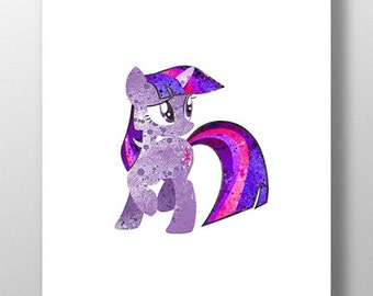 Twilight Pony Print