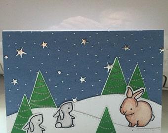 Cute, whimsical Christmas Card