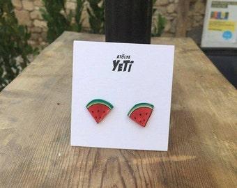 Watermelon Earring