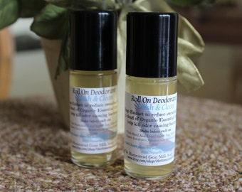 Fresh & Clean Roll On Deodorant -Men or Women