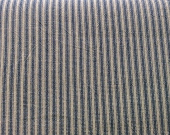 Woven fabric from Japan - striped - red/grey/natural