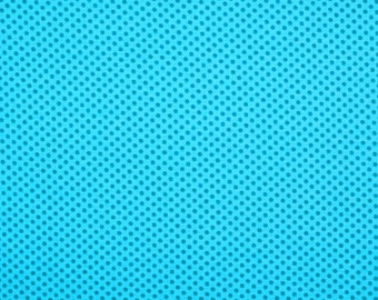 Jersey points aqua/turquoise