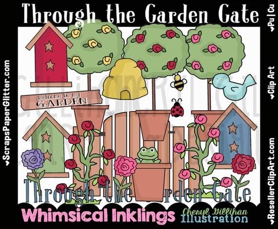 garden gate clipart - photo #32