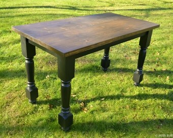 Tuscany Country Rustic Kitchen Island Counter Height Bar Table