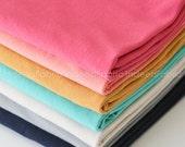 KNIT Solid FQ Bundle- Art Gallery Fabrics, Cotton Knit Fabric, Fat Quarter Bundle